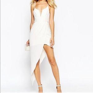 Ginger Fizz asymmetrical dress by ASOS